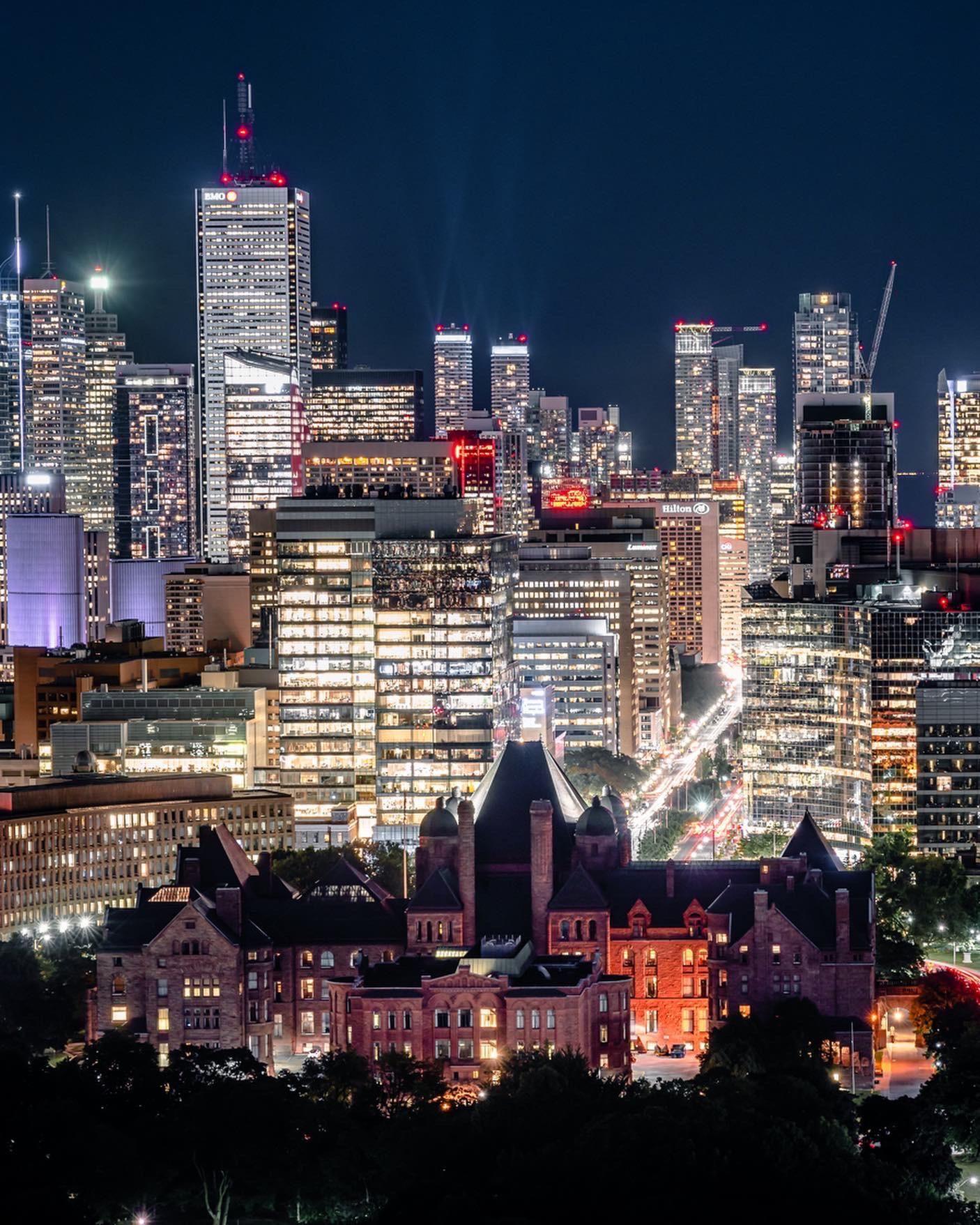 Ontario Legislative Building Queens Park Toronto Canada