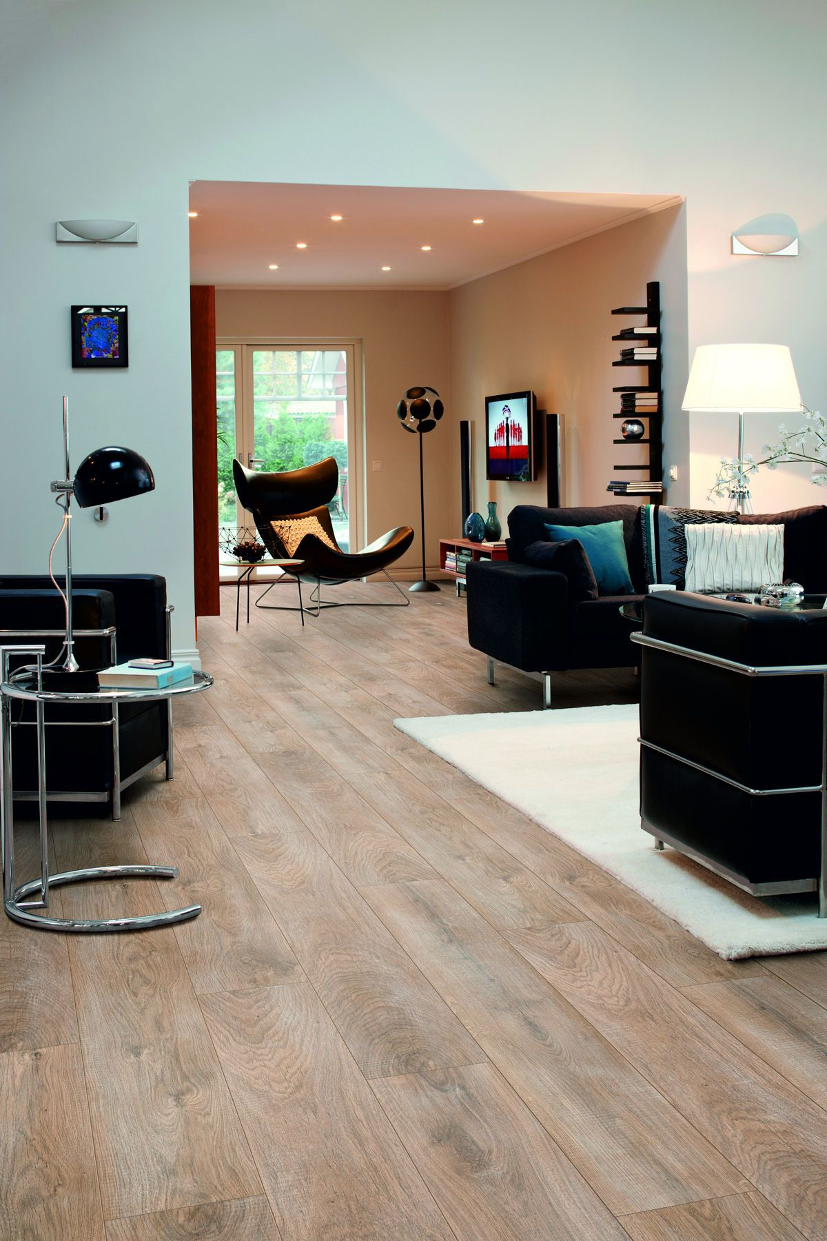 Pergo Parquet Pergo Living Expression Natural Oak Laminate Flooring