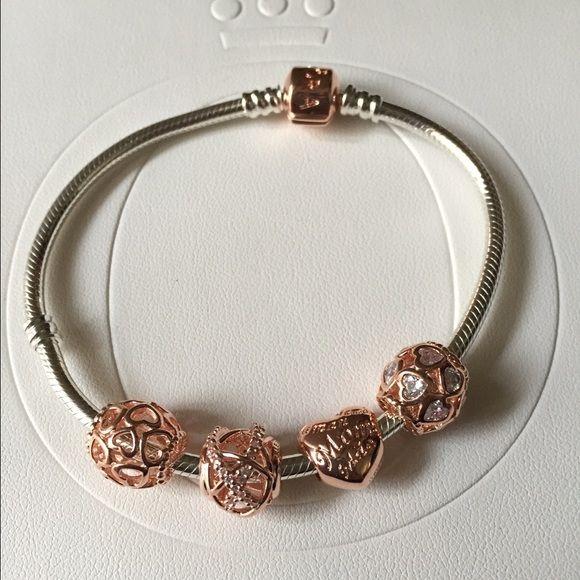 pandora armband rose