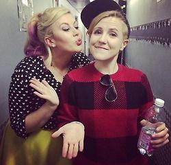 Louise and Hannah
