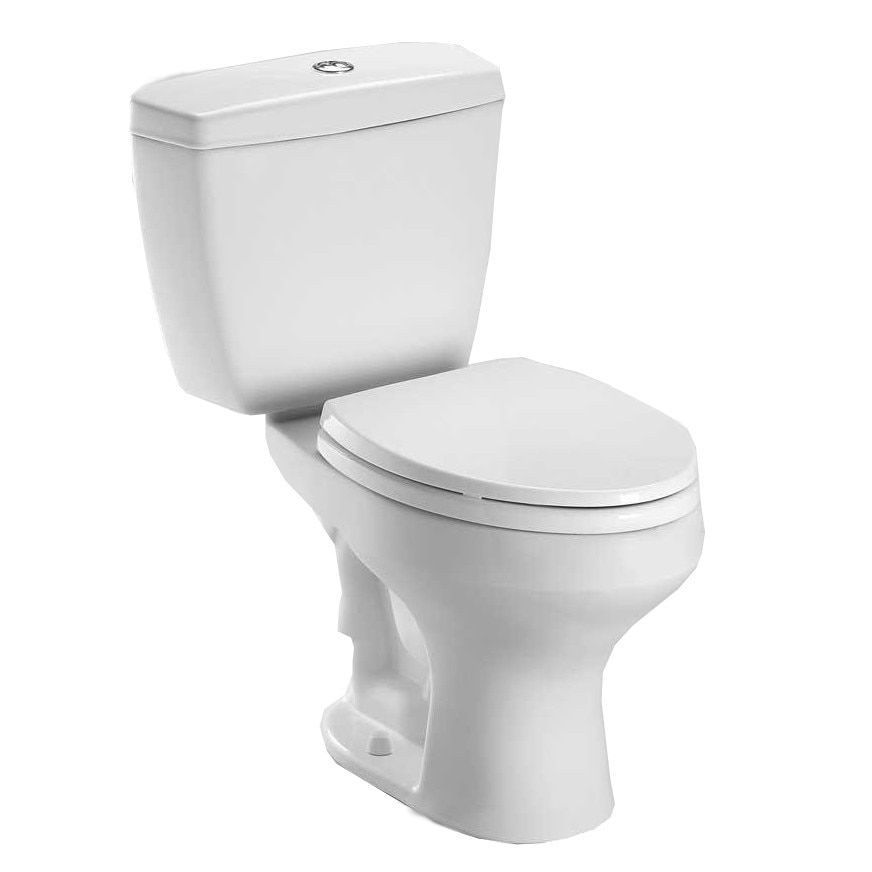 Toto Rowan Toilet Tank and Bowl, Less Seat (Cotton White) | Rowan ...