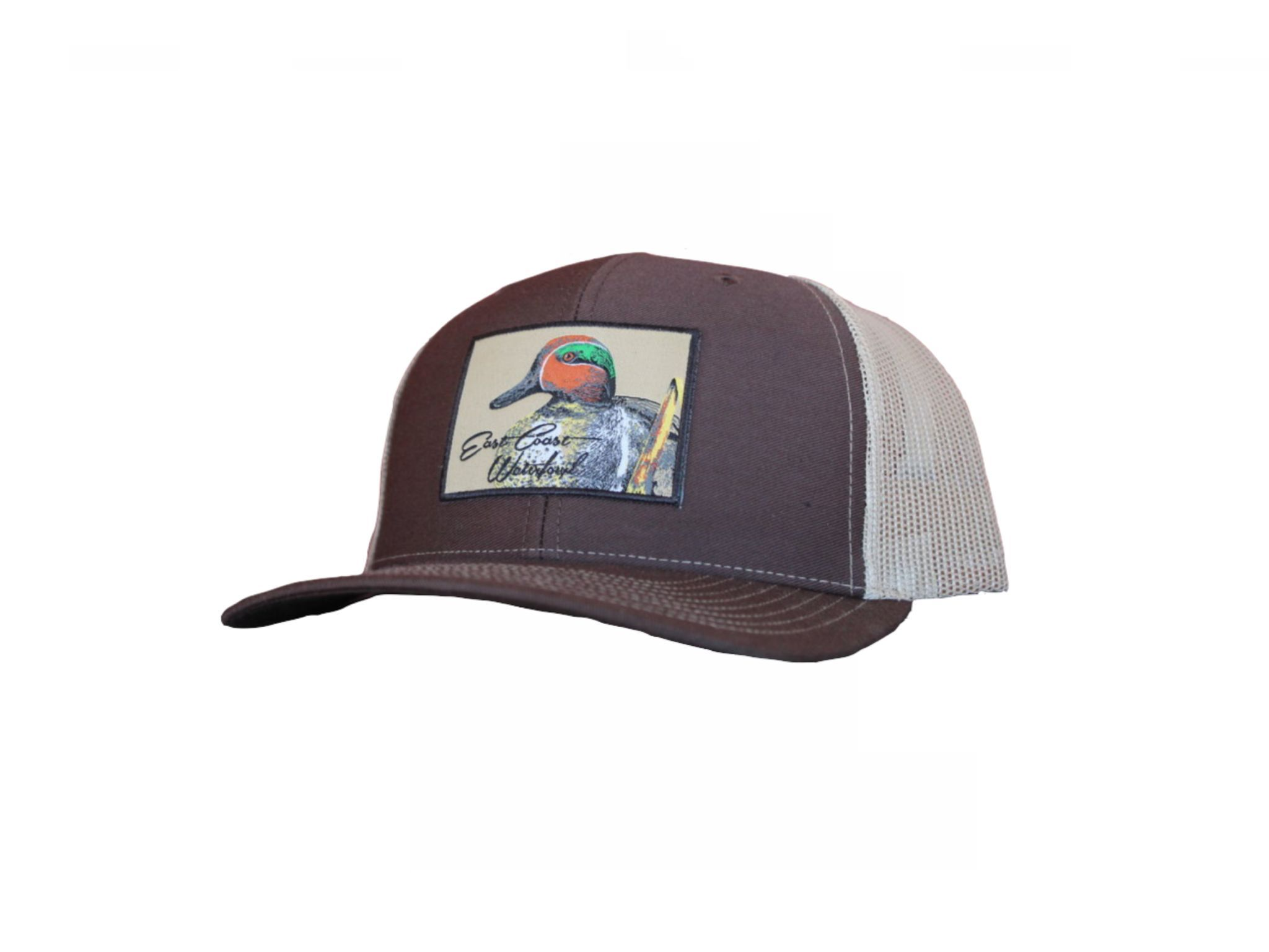 cc3444c7253 Green-Winged Teal Patch Snap Back Trucker Hat