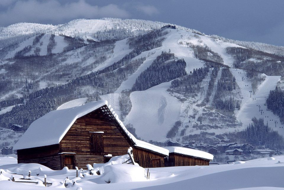 The Iconic Barn Of Steamboat Springs Co Ski Areas And