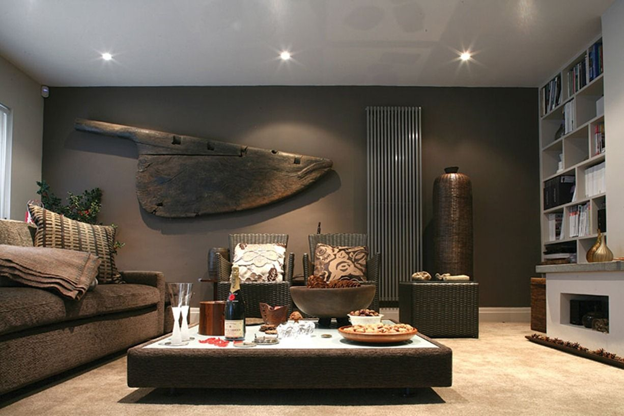 Masculine interior design with imagination masculine for As interior design