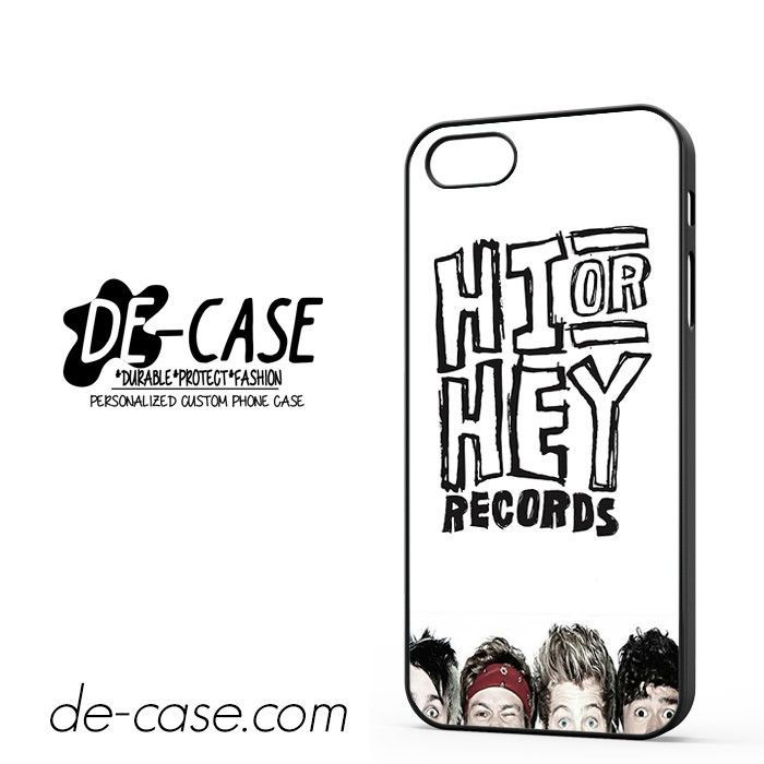 5 Seconds Of Summer Hi Or Hey DEAL-92 Apple Phonecase Cover For Iphone SE Case