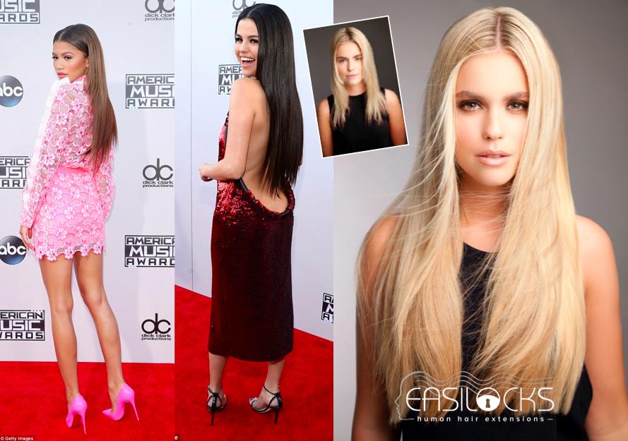 Red Carpet Look In Minutes Easilocks Celebrities Wearing