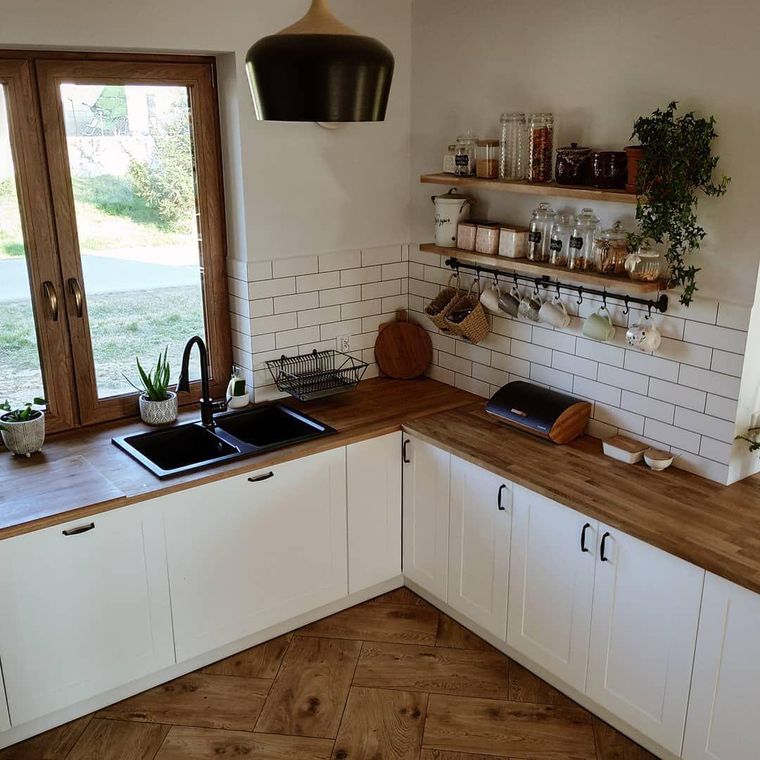 Polubienia 2 116 Komentarze 62 Sylwia Malydomeknawsi Na Instagramie Hej W Sobote Czy Zwrociliscie Kiedys Uwage Home Kitchens New Homes Sweet Home