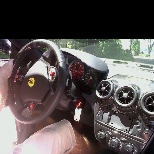 Firing up the Ferrari