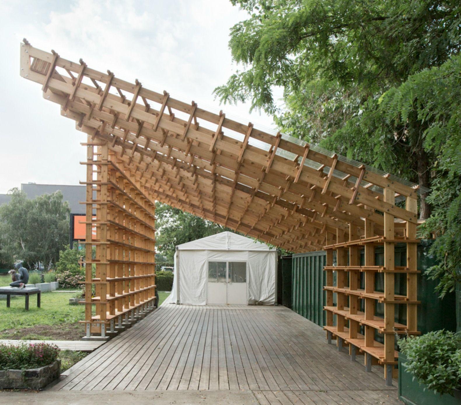 The garden pavilion. We think, believe, build
