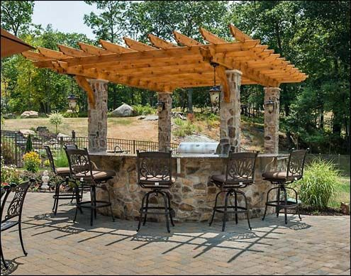 Custom 14' x 16' Cedar Pergola – built on pillars, buy others: Double 2x8  beams, 2x6 runners, 2x6 top runners, Custom braces. - Custom 14' X 16' Cedar Pergola – Built On Pillars, Buy Others