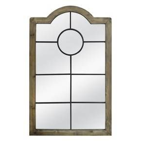 Threshold Arched Windowpane Mirror Target Target Home Decor Mirror Wall Mirror Decor