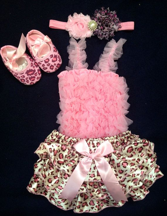 Pink Leopard Pettiskirt Sparkle Birthday Number Print Leopard Lacing Pink Top