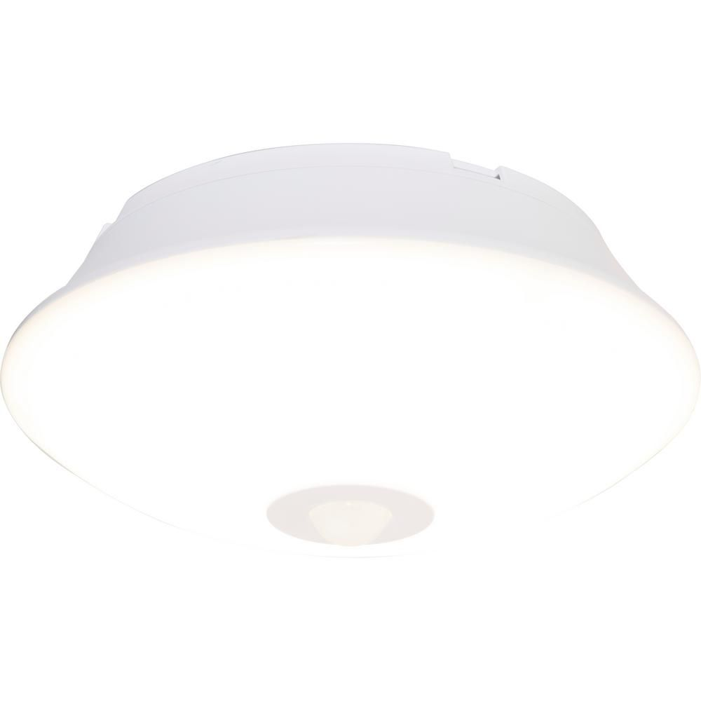 Energizer Wireless Motion Activated 300 Lumens Led Ceiling Light Fixture 39677 The Home Depot Led Ceiling Lights Led Ceiling Light Fixtures Ceiling Lights