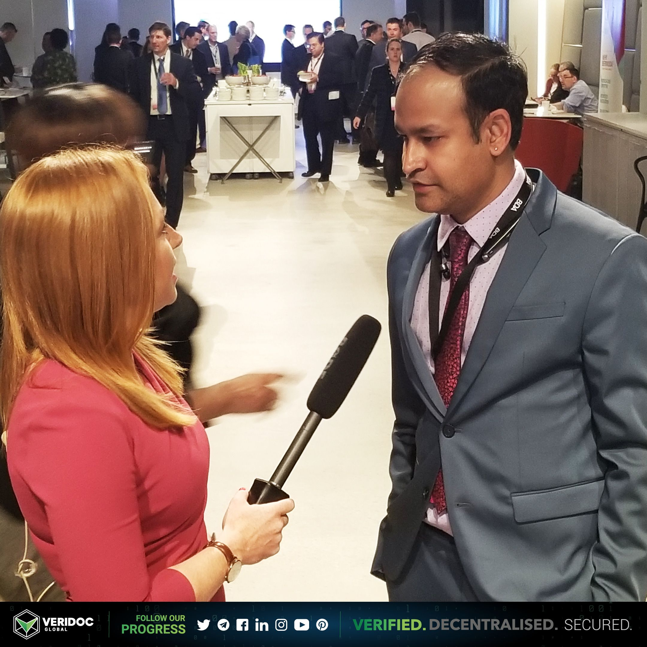 VeriDoc Global USA Director Vik Reddy Interview for the