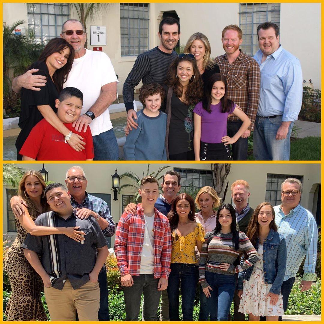 First Season Versus Final Season Modern Family Funny Modern Family Quotes Modern Family Tv Show