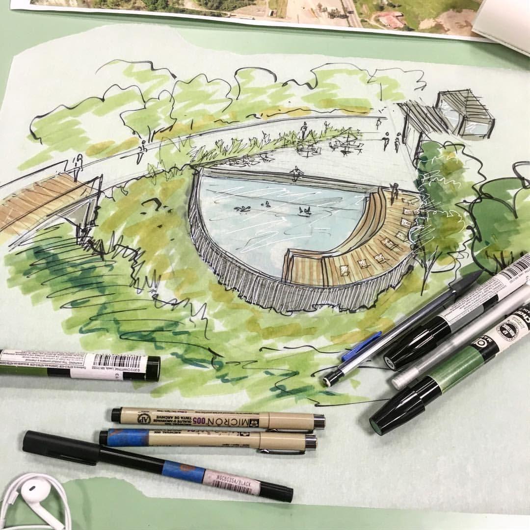 Landscape Architecture Drawing Techniques pinpatricia ferla on art   pinterest   landscape design plans