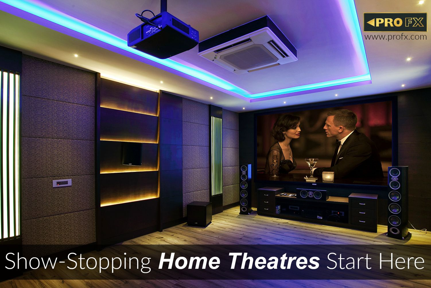 custom home theatre installed and designed by pro fx pro fx is rh pinterest com