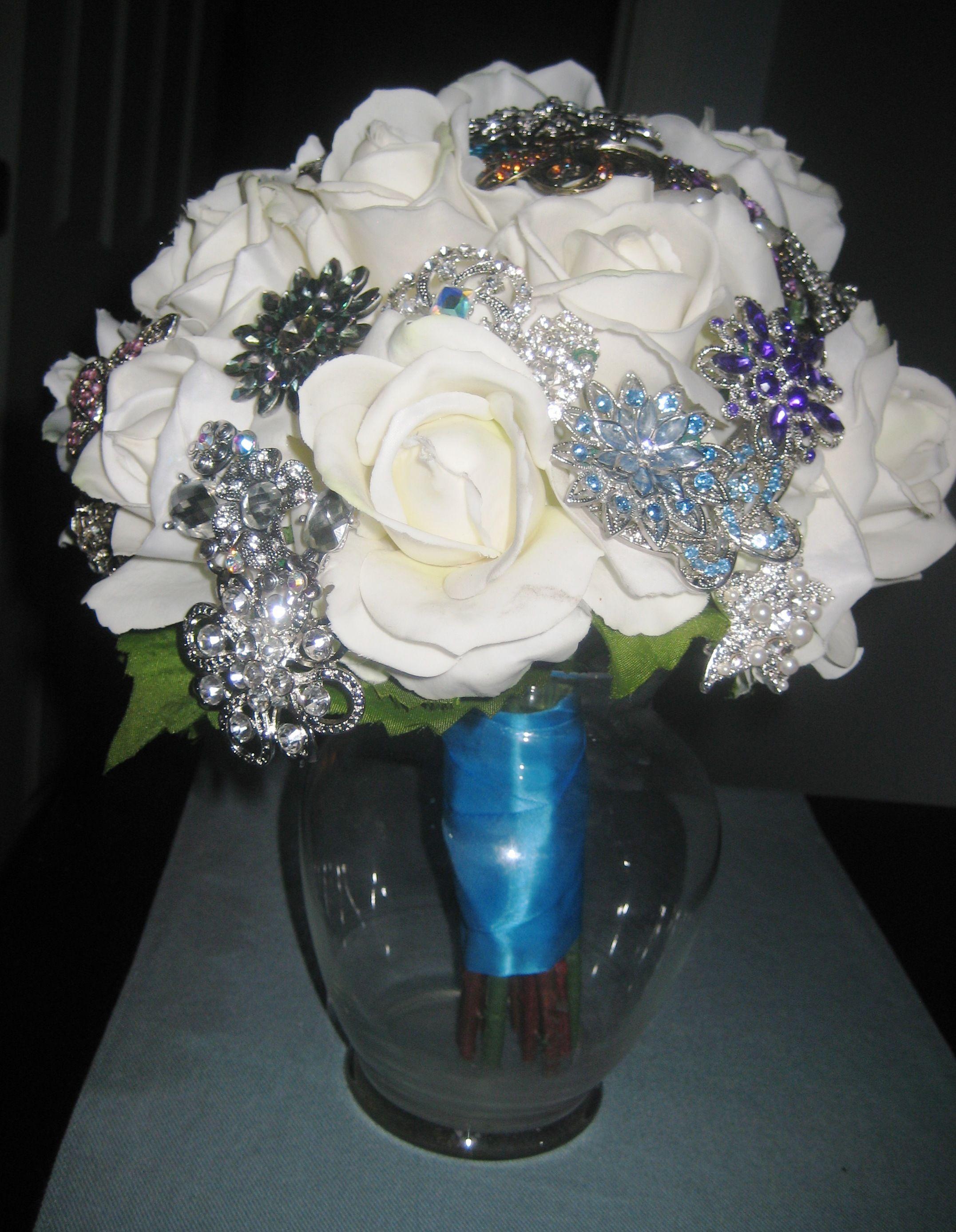 DIY Brooch Bouquet Brooch bouquet diy, Diy wedding
