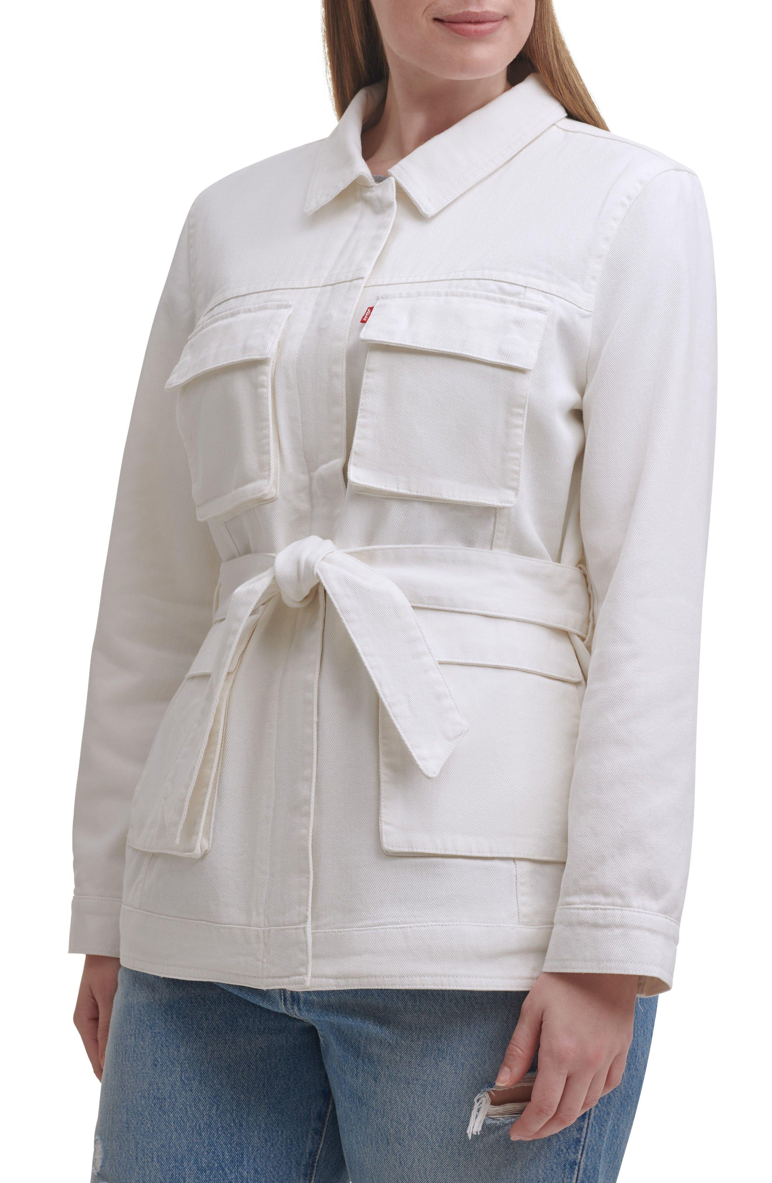 Plus Size Women S Levi S Safari Denim Jacket Size 3x White In 2021 Casual Denim Jacket Plus Size Women Denim Jacket [ 4048 x 2640 Pixel ]