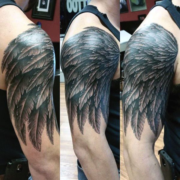 Top 100 Best Wing Tattoos For Men Designs That Elevate Wing Tattoo Men Cover Tattoo Cover Up Tattoos For Men