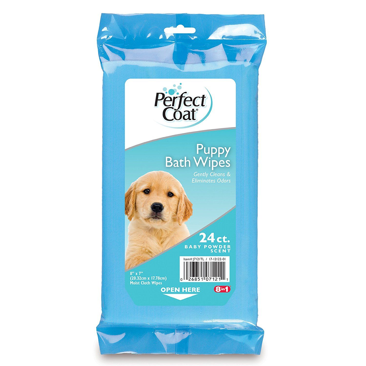 Perfect Coat Puppy Bath Wipes 24 Count J7121tl Special Dog