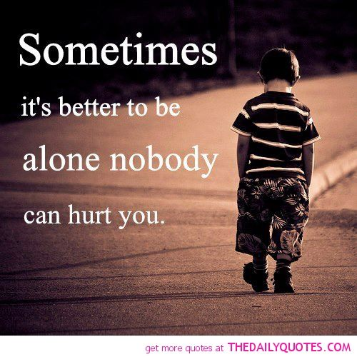 sad and alone quotes