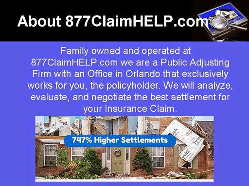 877claimhelp Com Orlando Public Adjuster Public Orlando Insurance