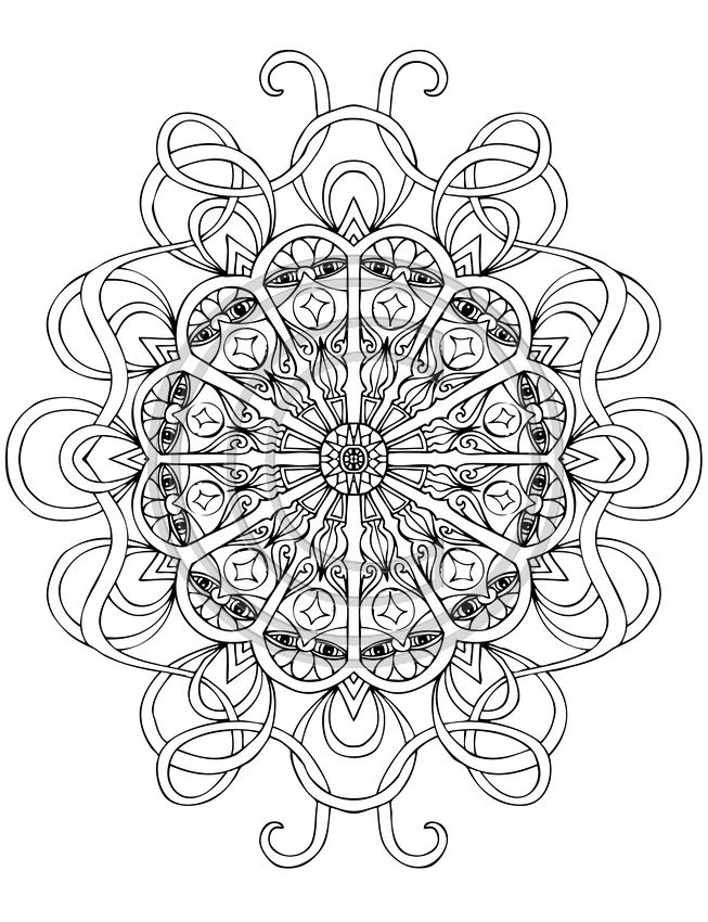A Coloring Book For Big Kids 3rd Edition Coloring Book Art Mandala Coloring Pages Mandala Coloring