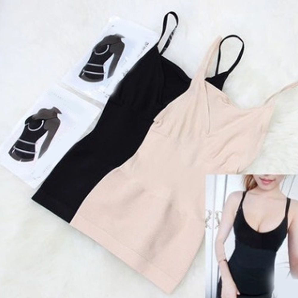 2d2c6b8cf286e ❤️Women Slimming Tank Top Tummy Control Seamless Vest Cami Body Shaper  Shapewear❤️