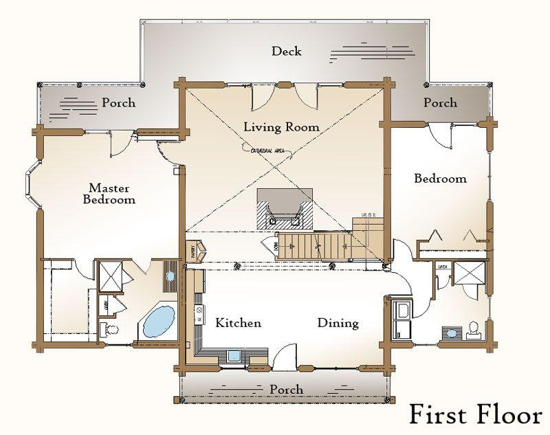 Peachy Open Kitchen Living Room Floor Plan Google Search Our House Inspirational Interior Design Netriciaus