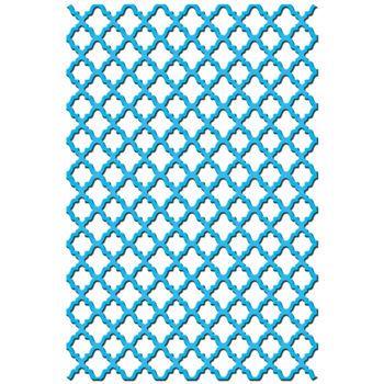 Spellbinders Shapeabilities Expandable Pattern Dies Fancy Lattice