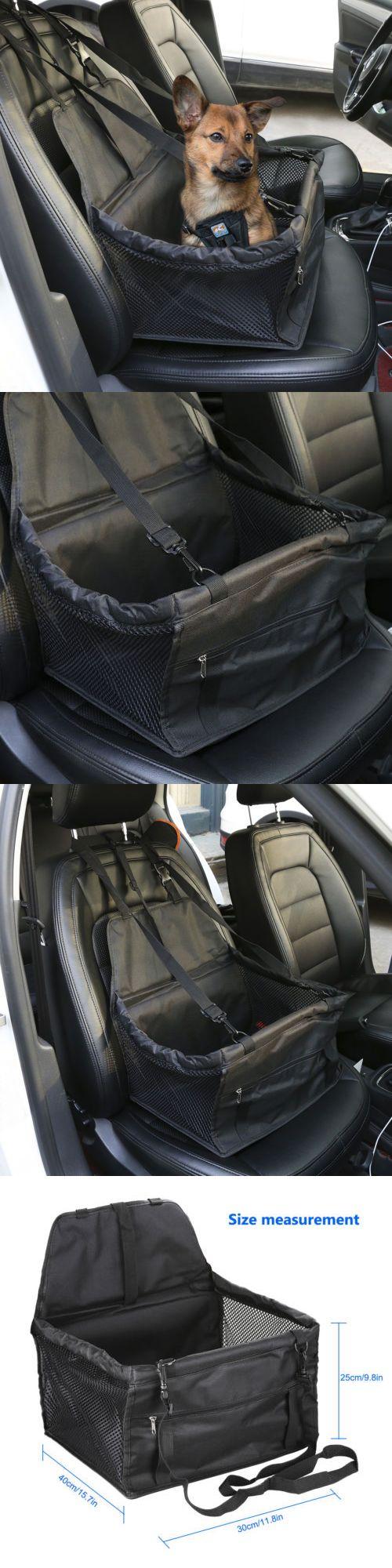 Large pet cat puppy dog car seat belt booster portable travel auto