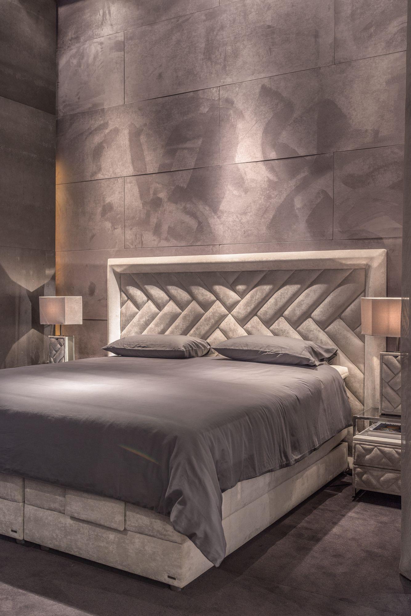 Carat Headboard Carat Lamp And Carat Side Table By Colunex Maison Et Objet Sept 2017 Bed Furniture Design Bed Headboard Design Bed Back Design