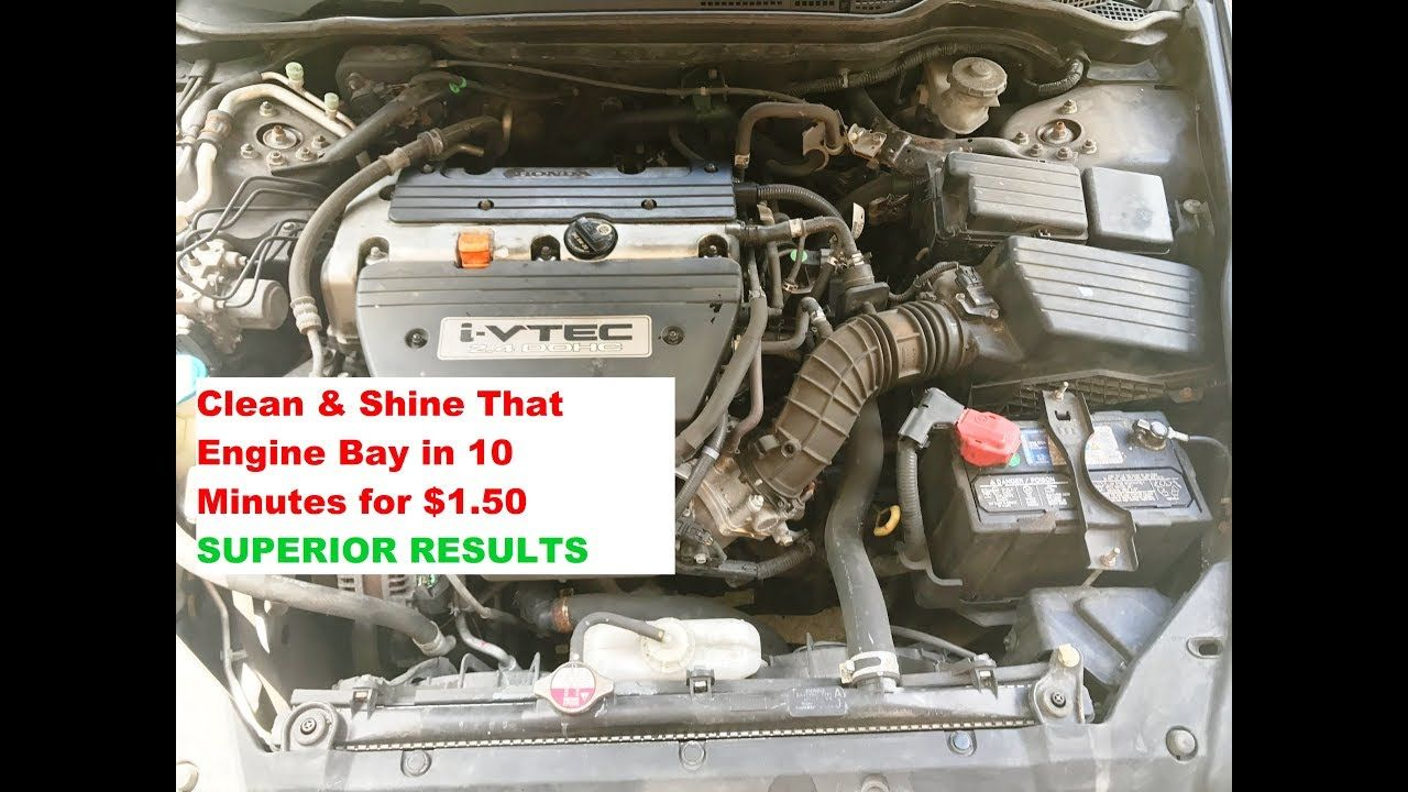 CLEAN & SHINE Your Engine Bay in 10 Minutes All For a 1