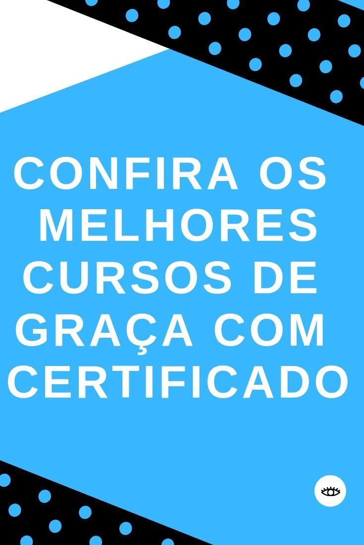 Cursos Online De Graca Com Certificado Online Education Importance Of Time Management Education
