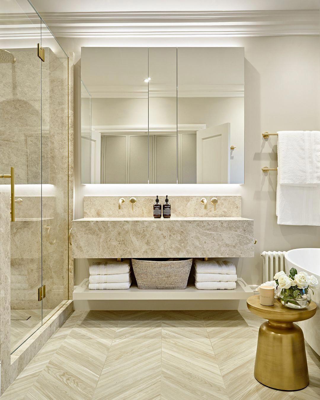 bathroom floor tile installation video