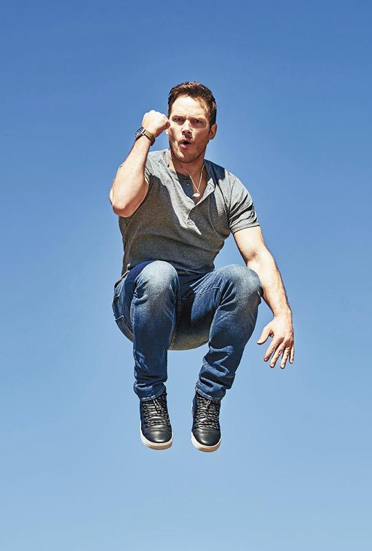 Chris Pratt - Men's Fitness