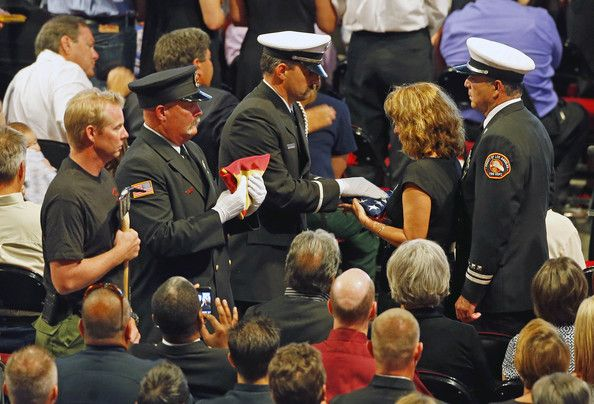 Memorial Service Honors 19 Elite Firefighters