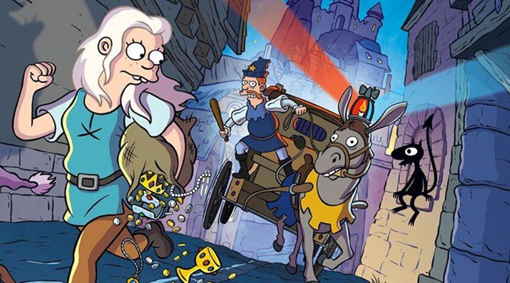 Disenchantment Netflix releases, Cartoon world, Cartoon