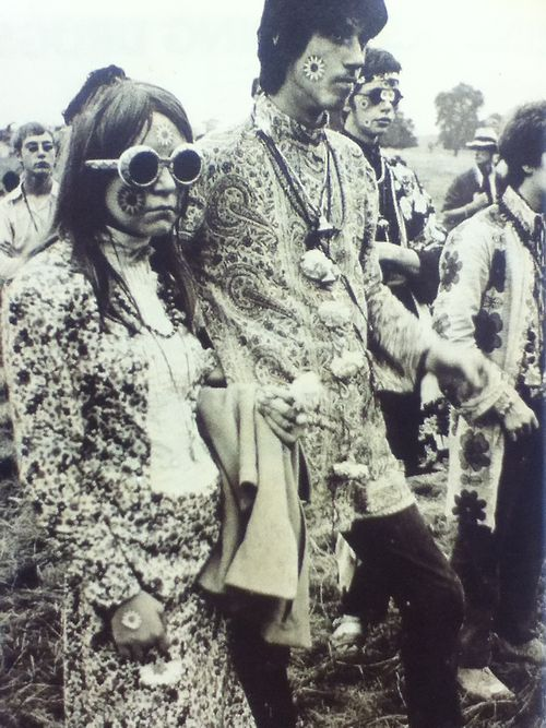 1960s Hippie Fashion