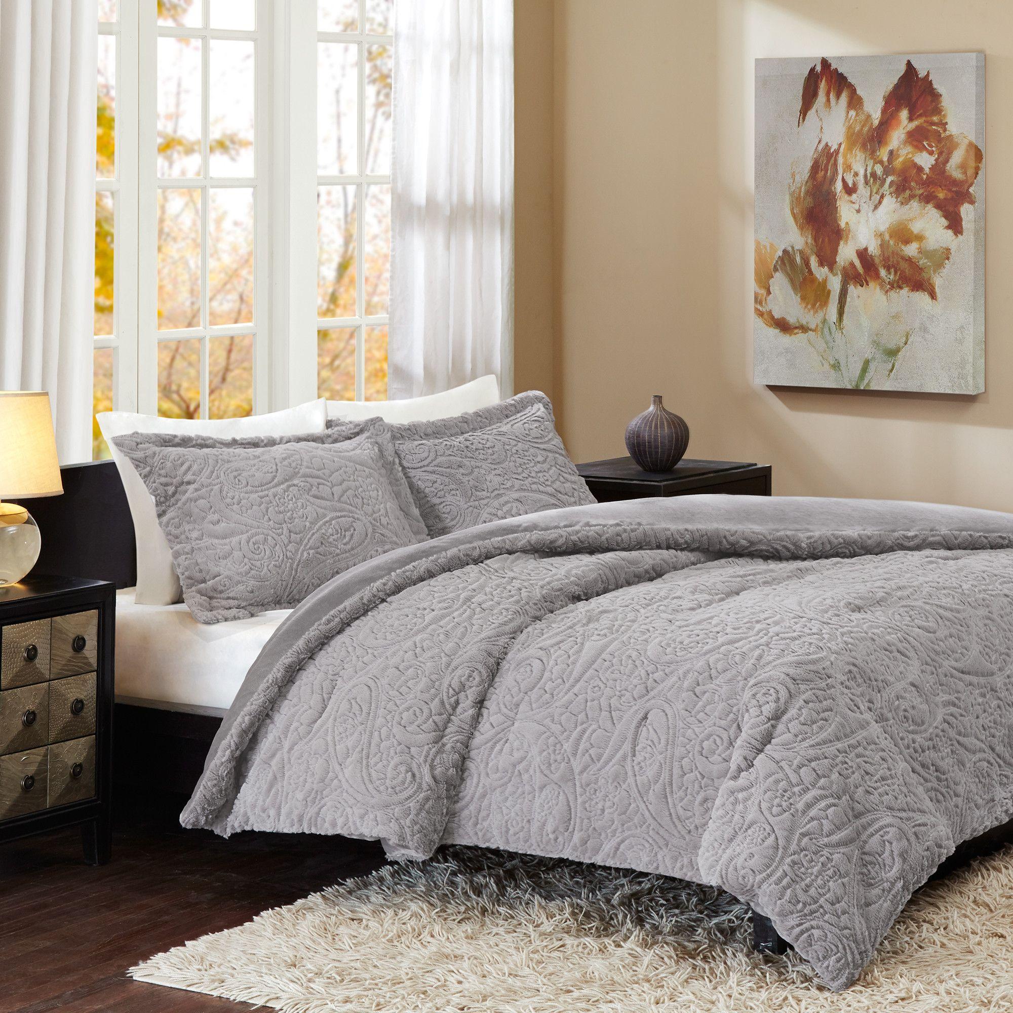 aaf04e0225 Nora Comforter Set   Room   Comforter sets, Comforters, Fur comforter
