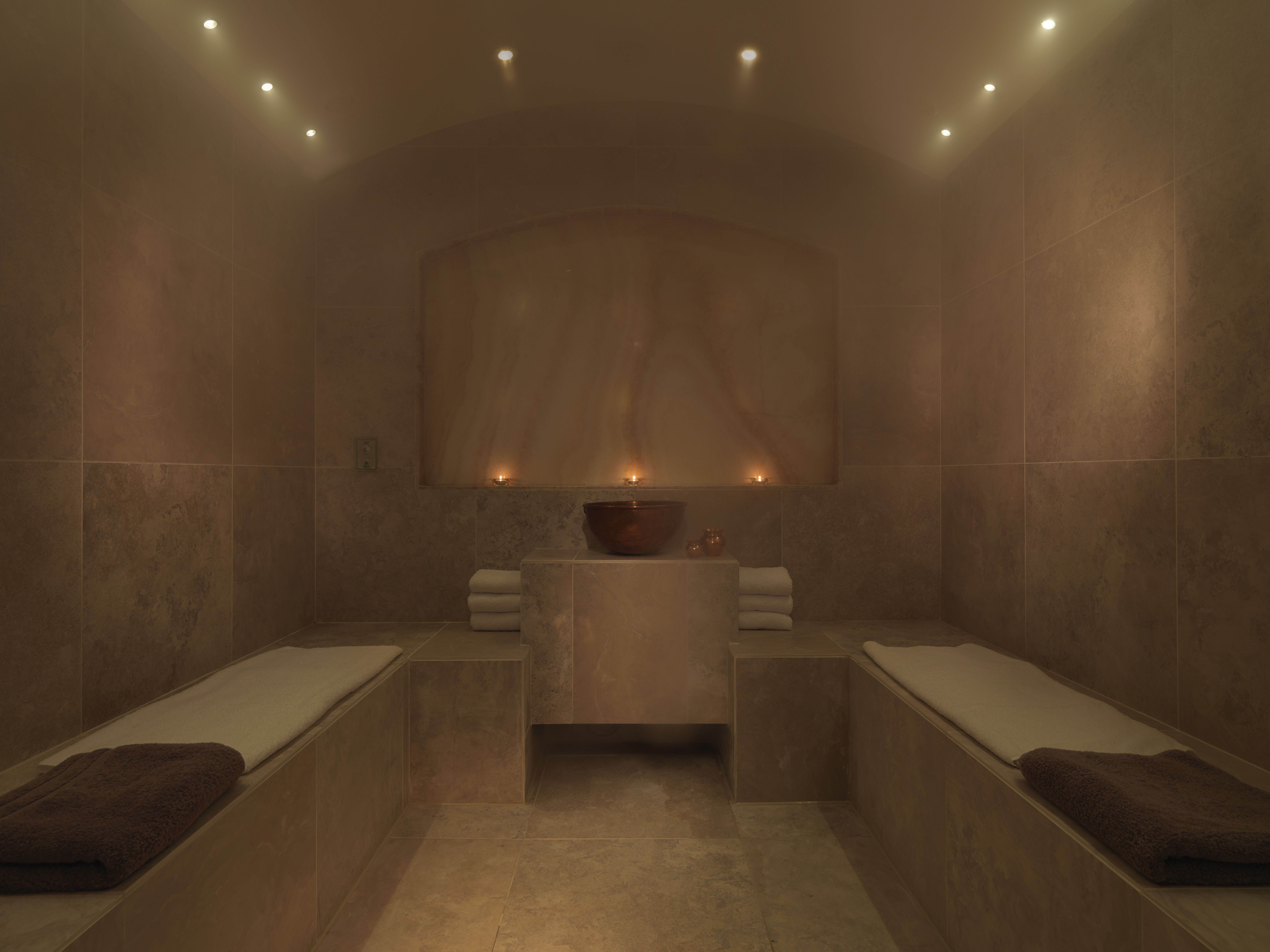 The Salt Infused Steam Room  Spa SW1 Spa in Dolphin