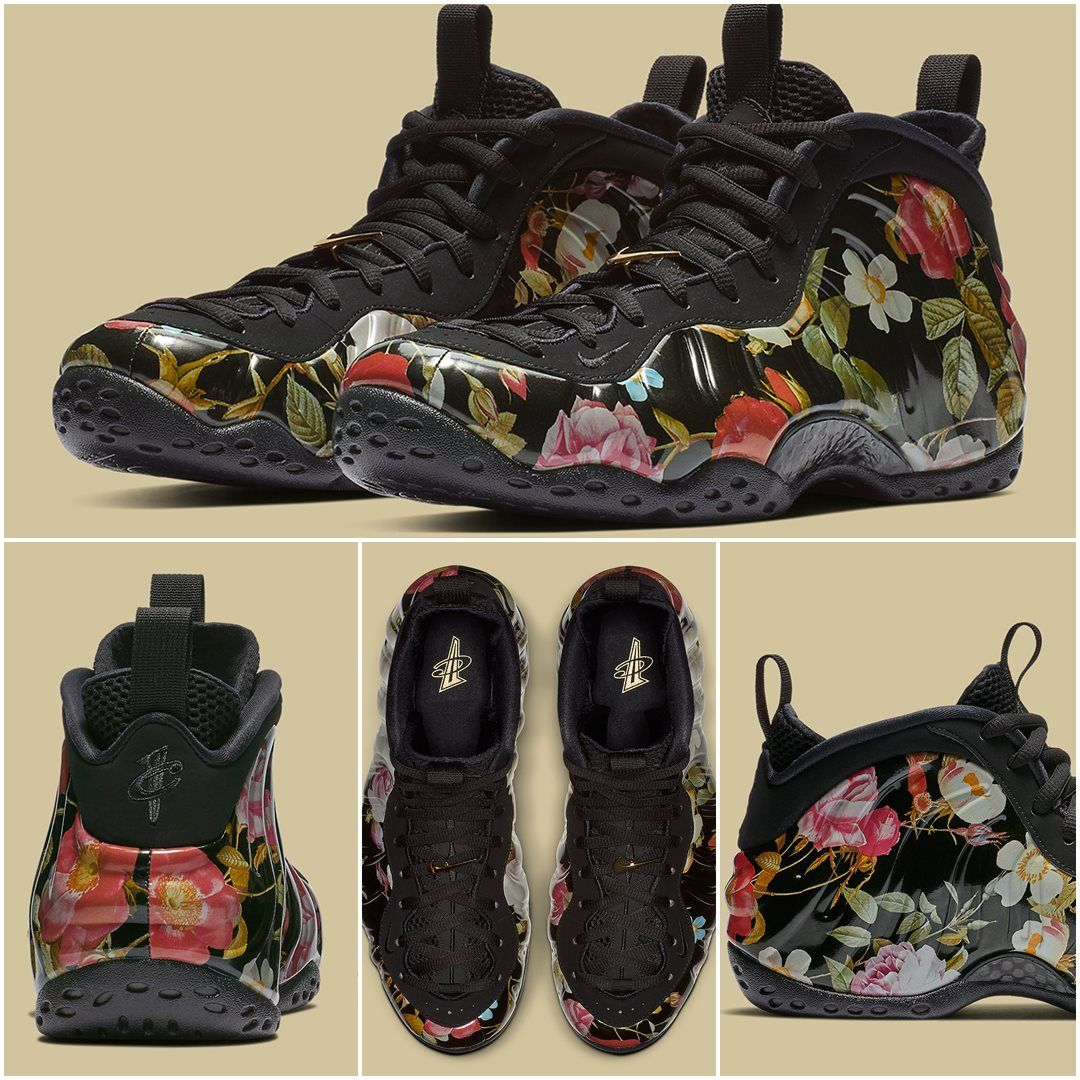 wholesale dealer 4628c fb931 Nike Air Foamposite One Floral   314996-012 - Retro Shoes