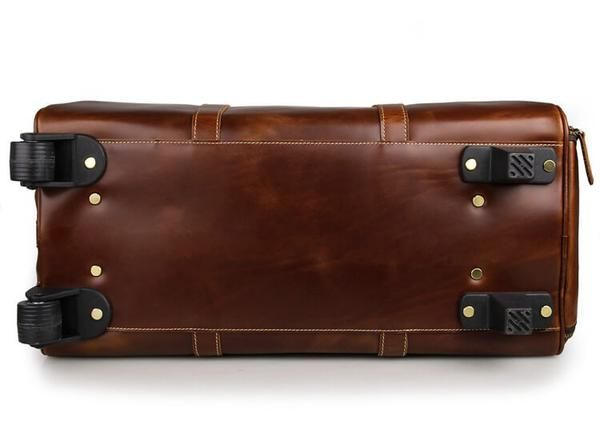 Handmade Extra Large Vintage Full Grain Leather Travel Bag, Duffle Bag,  Holdall Luggage Bag 50e99dba94