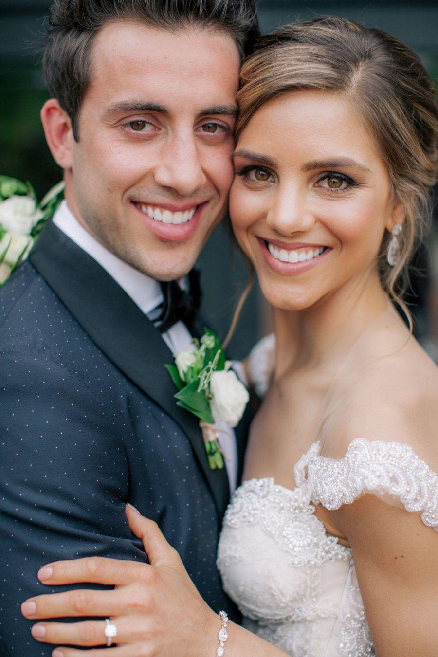 Elegant Yacht Club Wedding with a Dreamy Designer Dress – Boda fotos