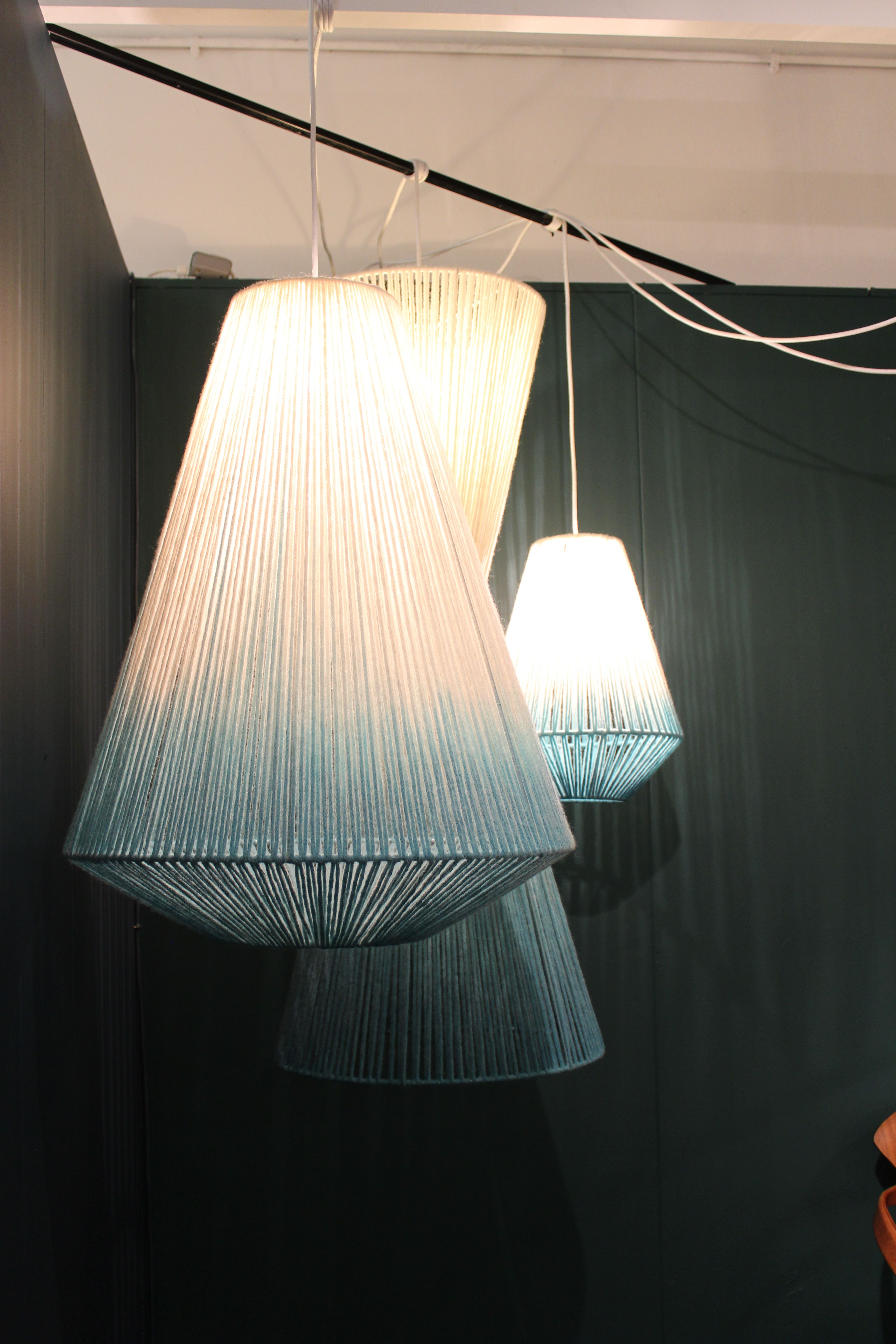 Knitted lighting london tent and super brands