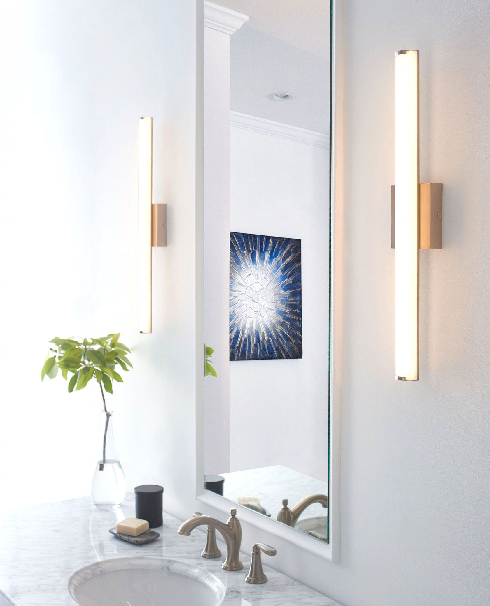 Finn Bathroom Vanity Light By Tech Lighting 700bcfinn24s Led930