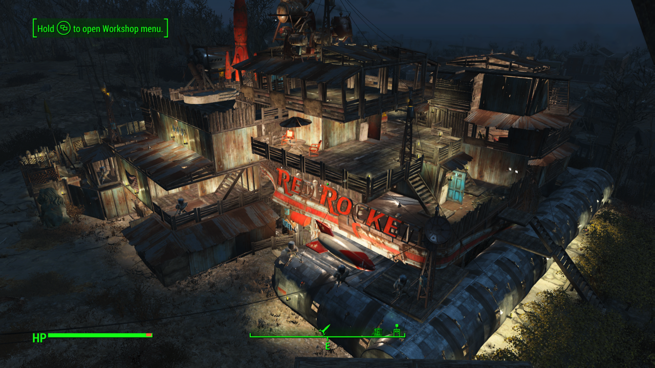 my red rocket base of operations Fallout4 gaming