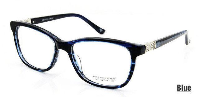High Quality Fashion oculos feminino Rhinestone Eyeglass Frames ...