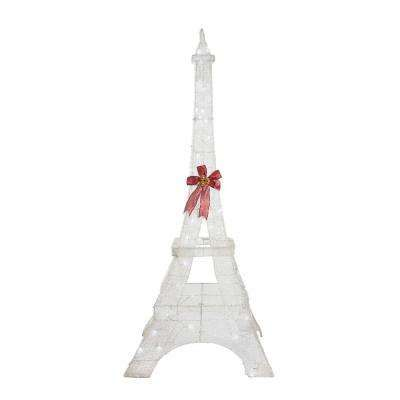 Led Lighted Ling Pvc Eiffel Tower